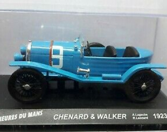 CHENARD & WALCKER #9 A.Lagache - R.Leonard (1923), blue