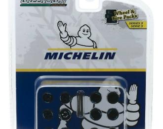 "набор ""Wheel & Tire Packs Series 3"" 4 комплекта колес Michelin Tires"
