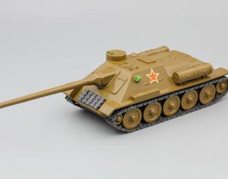 САУ СУ-100, коричневый