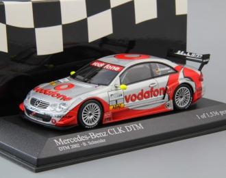 MERCEDES-BENZ CLK Coupe DTM Team Vogafone AMG B. Schneider #1 (2002), silver / red