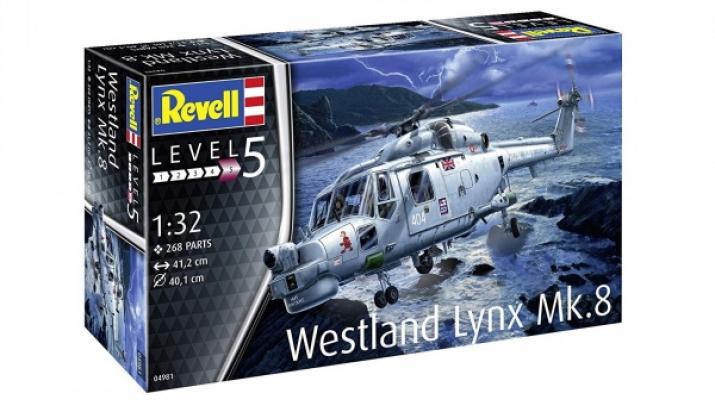 Сборная модель Британский вертолет Westland Lynx MK.8