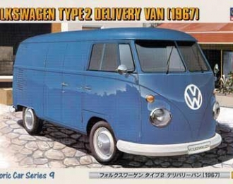 Сборная модель VOLKSWAGEN TYPE 2 DELIVERY VAN 1967