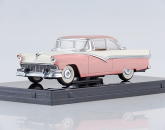 FORD Fairlane Hard Top (1956) sunset coral/colonial white