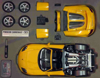 Сборная модель PORSCHE Carrera GT, yellow
