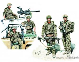 Сборная модель Современная британская пехота
