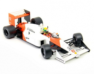 "McLAREN HONDA MP4/4 ""Marlboro""  #12 Ayrton Senna GP Japan 1988"