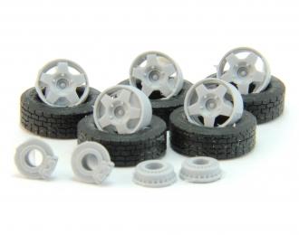 Резина Michelin с дисками (Samara, Niva T3), компл. из 5 колес