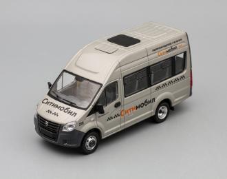 (Конверсия!) ГАЗель Next A65R22 пассажирская Ситимобил, серый
