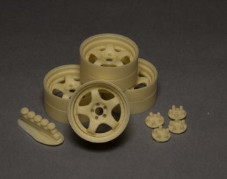 Комплект дисков MEISTER S1 3PIECE 18 дюймов