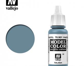 Краска акриловая `Model Color` Голубой пастельный / Pastel Blue