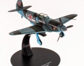 Яковлев Як-3 командира 303 ИАД Генерал-майора Захарова (10 побед) ноябрь 1944