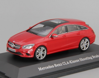 MERCEDES-BENZ CLA Shooting Brake X117 (2015), red jupiter