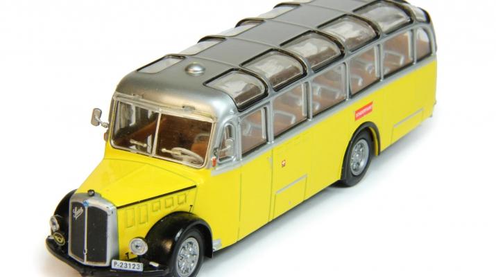 SAURER L4C (1959), Автомобиль на службе Спецвыпуск, желтый с серебристым