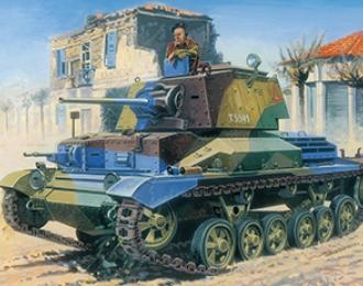 Сборная модель CRUSIER TANK Mk.II/IIA/IIA CS British crusier tank A 10 Mk.I/IA/IA/ CS (3in1)