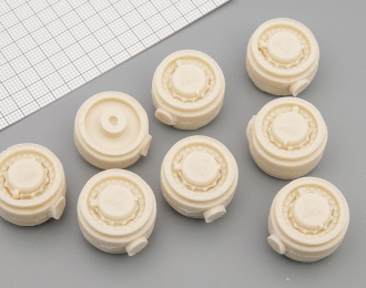 Комплект дисков для многоосников МАЗ/МЗКТ под резину (ВИ-202), 8 шт.