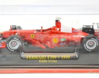 FERRARI F399 #4 Eddie Irvine 2 место 1999