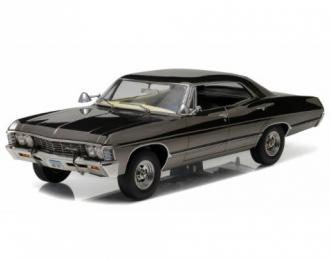 "CHEVROLET Impala Sport Sedan 1967 Black Chrome (из телесериала ""Сверхъестественное"")"