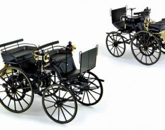 DAIMLER Motorkutsche 1886, black