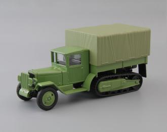 ЗИС-42М бортовой с тентом, зеленый