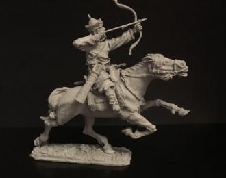 Конный монгол с луком, войско Мамая (54мм)
