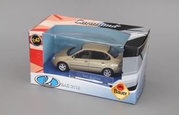 Волжский автомобиль 2118 Калина Седан, золотистый