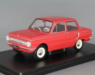 """ЗАЗ-966 """"Запорожец"""", Легендарные Советские Автомобили 11, красный"""