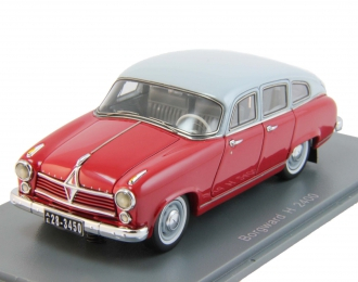 BORGWARD Hansa 2400 (1955), red / grey