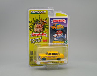 "CHECKER Motors Marathon A11 ""GPK Taxi Co."" 1970 (Unaware Aaron из к/ф ""Малыши из мусорного бачка"") (Greenlight!)"