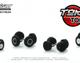 "набор ""Wheel & Tire Packs Series 2"" 4 комплекта колес для японских спорткаров"