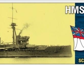 """Сборная модель Британский линкор HMS """"Hercules"""" (1911г.)"""