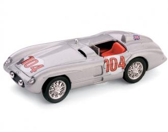 MERCEDES-BENZ 300SLR 39a Targa Florio #104 (1955), silver