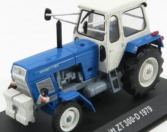 FORTSCHRITT ZT 300-D (1979), blue / white