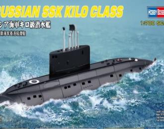 Сборная модель Подводная лодка RUSSIAN NAVY KILO CLASS