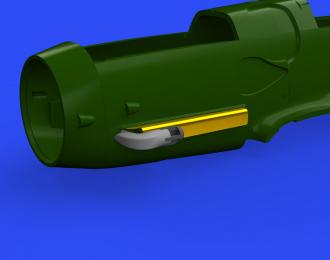 Дополнение к модели Bf 109G Eberspächer акустические трубки