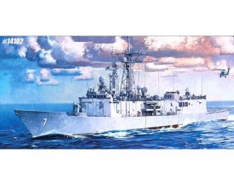 """Сборная модель Корабль FFG-7 Фрегат """"Оливер Пэрри"""""""