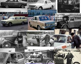 Набор декалей для автомобилей ТАКСИ, 190х80