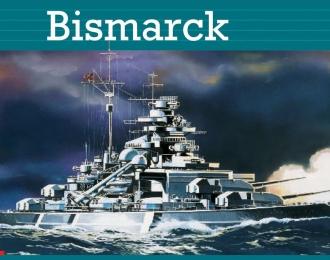 Сборная модель Немецкий линейный корабль Bismarck