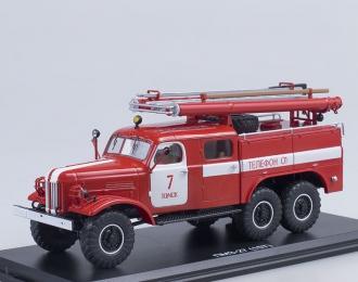 ПМЗ-27 (на шасси ЗИЛ 157К) ПЧ №7 г.Томск, красный