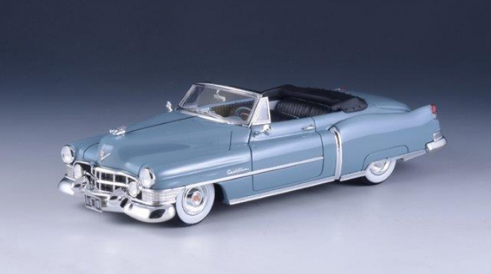 1//43 GLM Model Cadillac Series 62 Convertible 1951 Blue Open Top GLM119101
