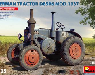 Сборная модель German Tractor D8506 Mod. 1937