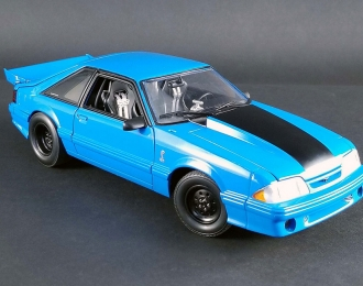 "FORD Mustang Cobra ""Drag Kings"" 1993 Grabber Blue"