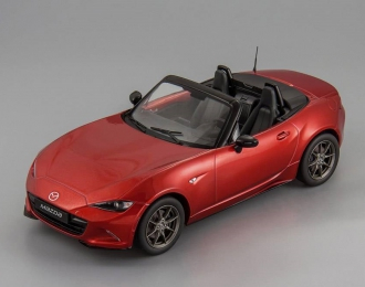 MAZDA MX-5 with removable soft top (2015), red