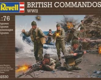 Сборная модель Британские коммандос (Вторая Мировая война)