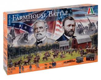 Сборная модель FARMHOUSE BATTLE - American Civil War 1864 - BATTLE SET