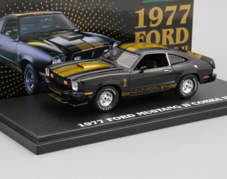 FORD Mustang II Cobra II 1977 Black with Gold Stripes
