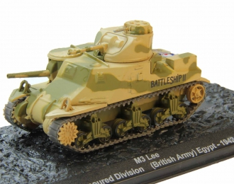 M3 Lee 10th Armoured Division (British Army) Egypt (1942), Автомобиль на Службе Спецвыпуск