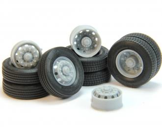 Резина, диски Continental 4x2 (для евротягачей)