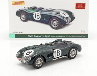 Jaguar C-Type 1953 24h France Winner #18 Tony Rolt / Duncan Hamilton (green)