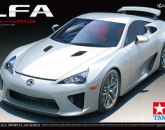 Сборная модель Lexus LFA c набором фототравления
