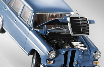 MERCEDES-BENZ 200 W110 Universal (1966), blue